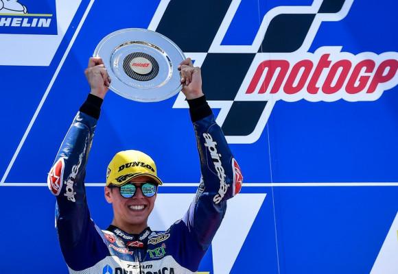 GPR EXHAUST WORLD CHAMPION WITH GRESINI RACING TEAM MOTO 3